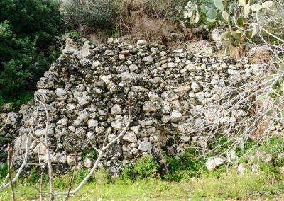 Resti di mura fortificate