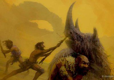 Rinoceronte lanoso - Neanderthal