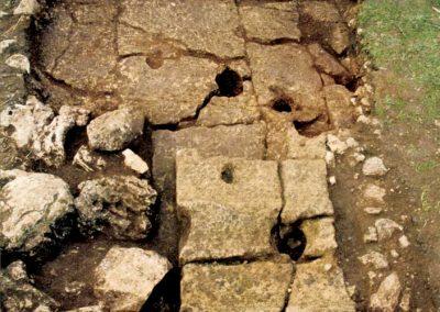 Resti di antiche mura messapiche
